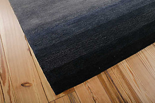 "Home Accents Contour Contemporary 5' x 7'6"" Area Rug, Gray, rollover"