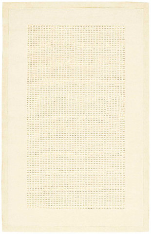 Nourison Westport White 5'x8' Area Rug, Ivory, large