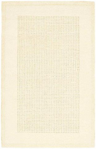 Nourison Westport White 5'x8' Area Rug, Ivory, large