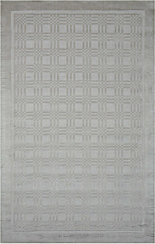 Nourison Westport Gray 5'x8' Area Rug, Gray, large