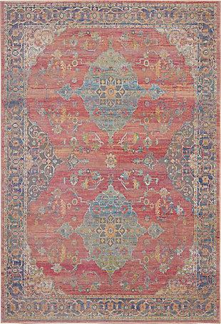 Nourison Ankara Global Multicolor 5'x8' Persian Area Rug, Multi, large