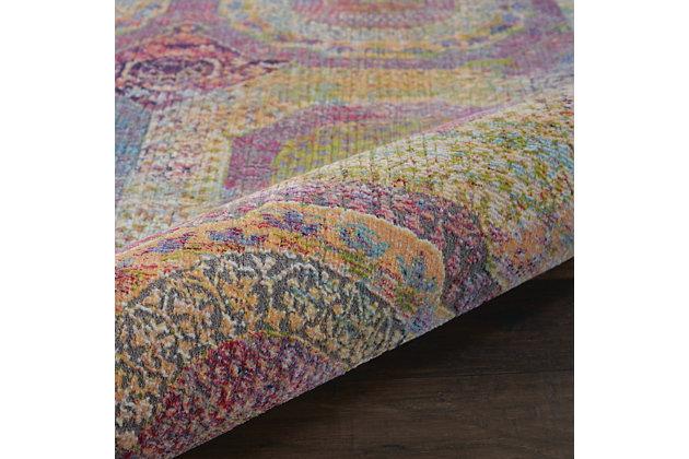 Nourison Ankara Global Multicolor 5'x8' Boho Area Rug, Multi, large