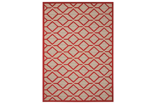 "Home Accents Aloha Checkered 7'10"" x 10'6"" Area Rug by As..."
