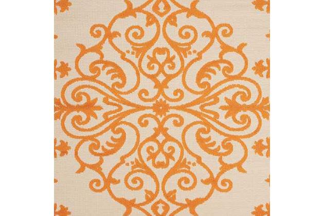 "Nourison Aloha 7'10"" X 10'6"" Area Rug, Orange, large"