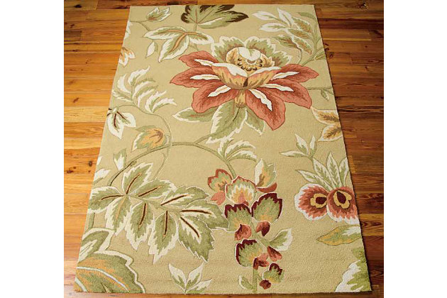 "Home Accents Fantasy 5' x 7'6"" Area Rug, , large"