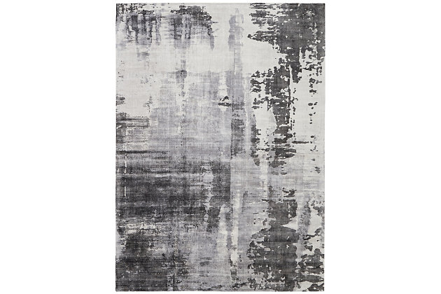 Nourison Dreams Gray 8'x11' Oversized Rug, Gray, large