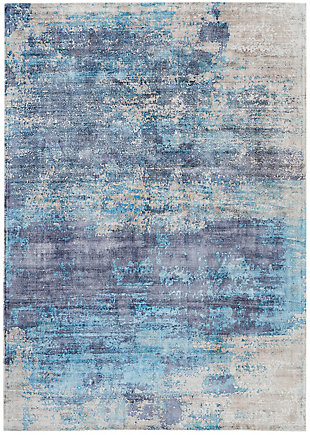 Nourison Dreams Blue 5'x8' Area Rug, Teal, large