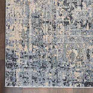Nourison Moroccan Celebration 8' x 11' Area Rug, Slate, large