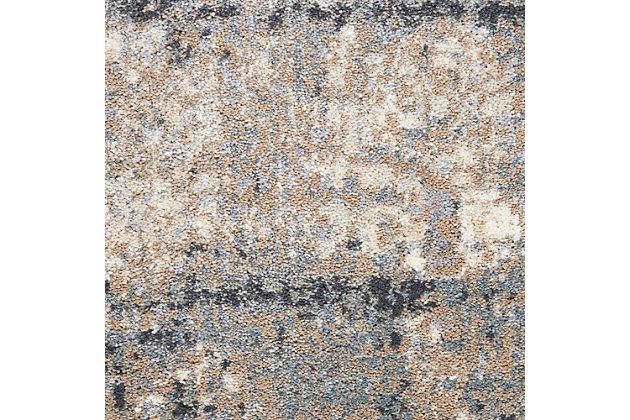 Nourison Moroccan Celebration 5' x 7' Area Rug, Gray/Slate, large