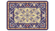 "Home Accents Premium Comfort 1'10"" x 2'7"" Siam Mat, Blue, large"