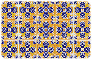 "Home Accents Premium Comfort 1'10"" x 2'7"" Mexican Tile Mat, , large"