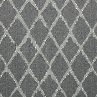 Nourison Gleam Gray 5'x7' Area Rug, Gray, large