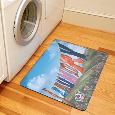 """Home Accents Premium Comfort 1'10"""" x 2'7"""" Laundry Line Mat, , large"""
