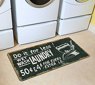Home Accents Premium Comfort 2' x 4.5' Vintage Laundry Runner, , rollover