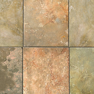 """Home Accents FoFlor 2'1"""" x 5' Clean Slate Accent Runner, Brown, large"""