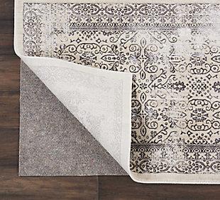 Nourison Nourison Basic RugLoc 8' x 10' Non-slip Rug Pad, Gray, rollover