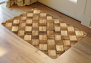 "Home Accents FoFlor 1'11"" x 3' Basketcase Accent Mat, , rollover"