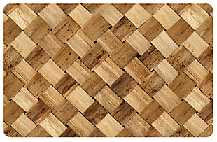 "Home Accents FoFlor 1'11"" x 3' Basketcase Accent Mat, , large"