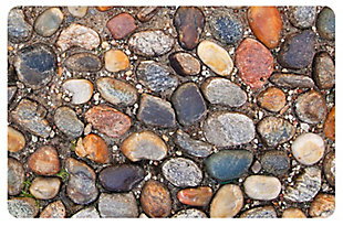 """Home Accents FoFlor 1'11"""" x 3' Stone Path Accent Mat, , rollover"""