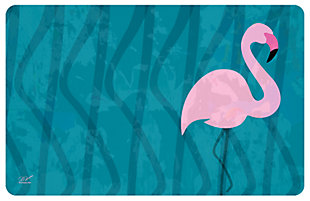 "Home Accents 1'11"" x 3' Flamingo Accent Mat by Dominique Vari, , large"