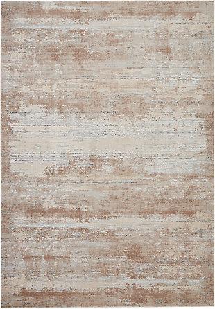 Nourison Nourison Rustic Textures RUS03 Beige 8'x11' Oversized Rug, Beige, large