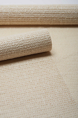 Nourison ShiftLoc 8' x 10' Rectangle Non-Slip Rug Pad, Ivory, rollover