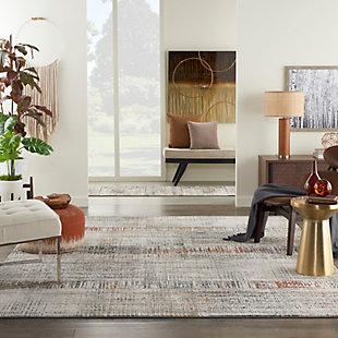 Nourison Tangra 8'x10' Multicolor Area Rug, Multi, rollover