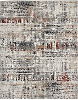 Nourison Tangra 8'x10' Multicolor Area Rug, Multi, large