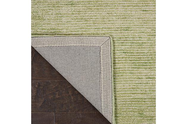 Nourison Weston Green 4'x6' Contemporary Area Rug, Citron, large