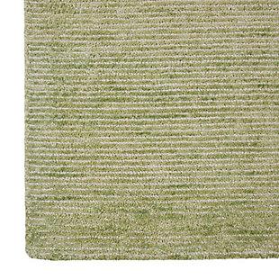 Nourison Weston Green 8'x11' Oversized Textured Rug, Citron, large