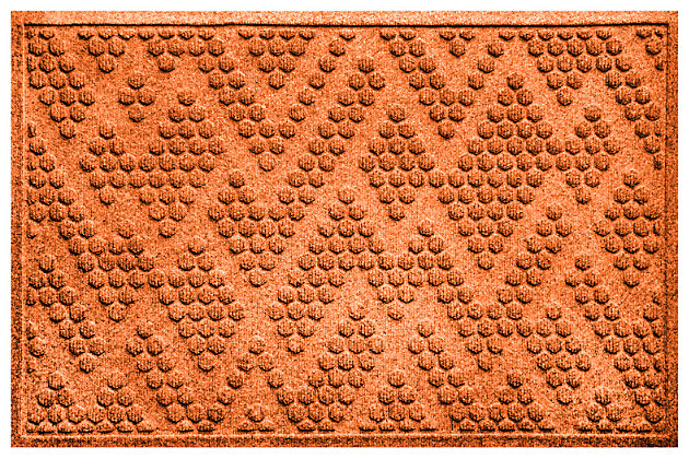 Home Accents Aqua Shield 2' x 3' Katy Doormat by Ashley HomeStore, Orange