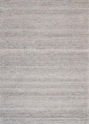 Nourison Weston Gray 8'x11' Oversized Textured Rug, Silver Birch, large