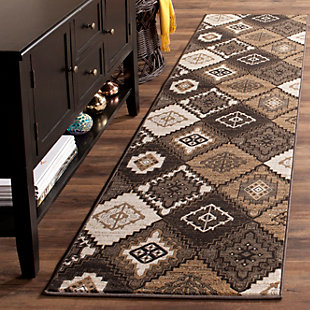 "Home Accents Geometric 2'2"" x 8' Rug, , rollover"