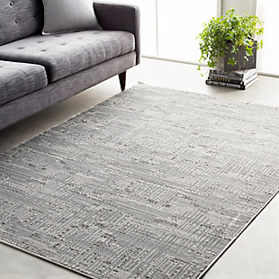 Surya Johnson Area Rug, Gray, rollover