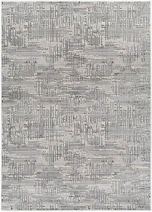 Surya Johnson Area Rug, Gray, large
