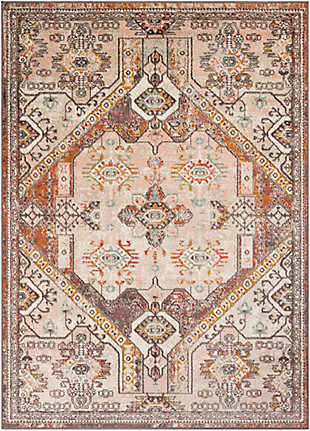 Surya Ankara Area Rug, Orange, large