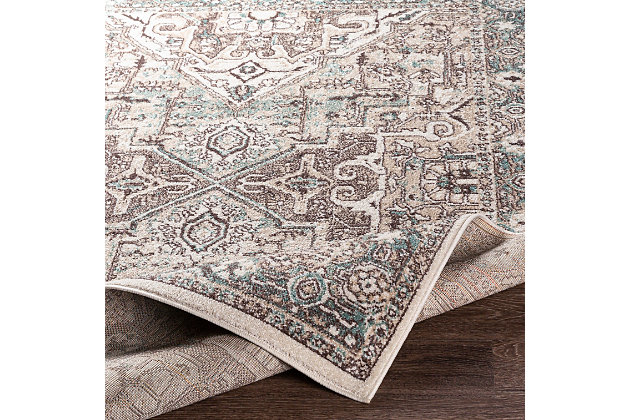 Surya Ankara Area Rug, Blue, large