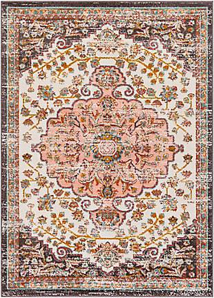 Surya Ankara Area Rug, Red, large