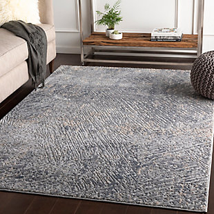 Surya Howard Area Rug, Gray, rollover