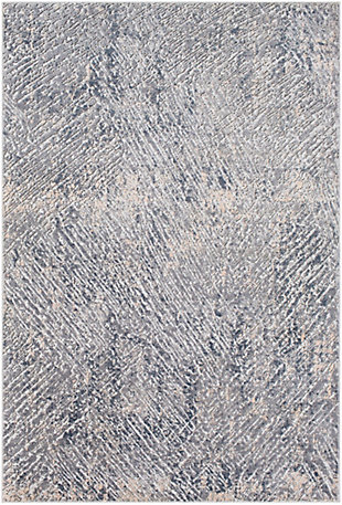 Surya Howard Area Rug, Gray, large