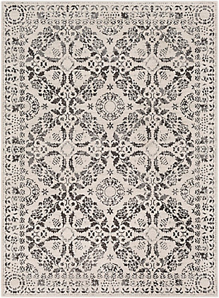 Surya Bahar Area Rug, Gray, large