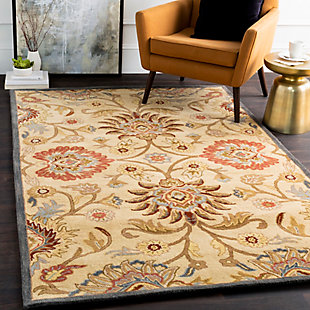 Surya Brooks Area Rug, Blue, rollover
