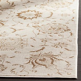 "Home Accents Paisley 4'  x 5'7"" Rug, Cream, rollover"