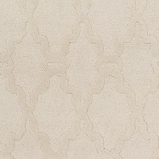 Surya Bennett Area Rug, White, large