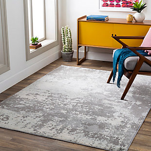 Surya Chester Area Rug, Gray, rollover