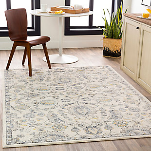 Surya City Area Rug, Gray, rollover