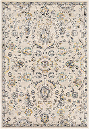 Surya City Area Rug, Gray, large