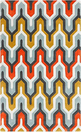 Surya Gray Area Rug, Green, large