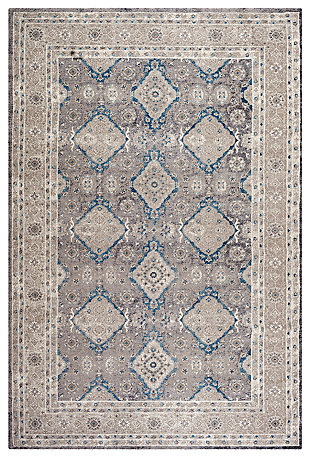 "Home Accents SOFIA 4' x 5'7"" Rug, Multi, large"