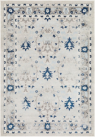Surya Jackson Area Rug, Blue, large